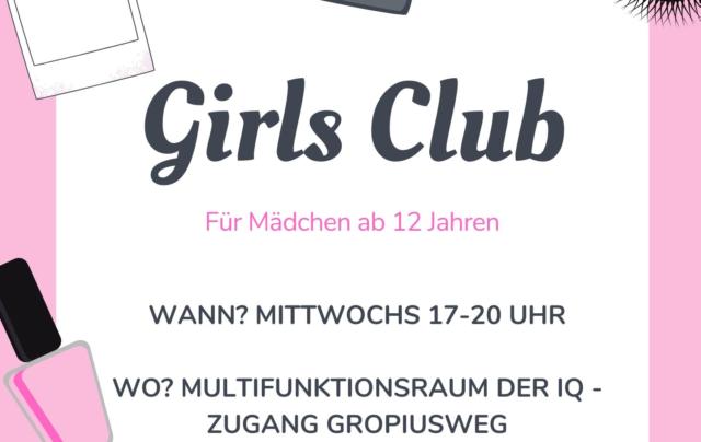 Girls Club im Multifunktionsraum der IQ