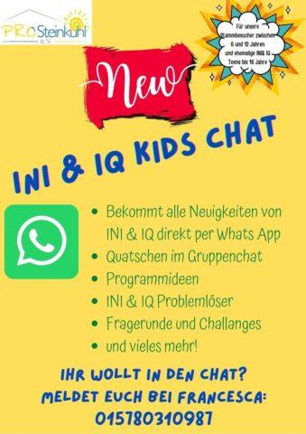 INI & IQ Kids Chat